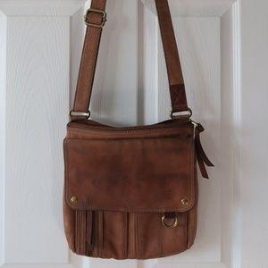 Fossil Brown Shoulder Bag